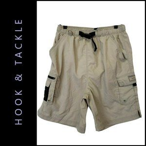 Hook & Tackle Technical Fishing Gear Cargo Short